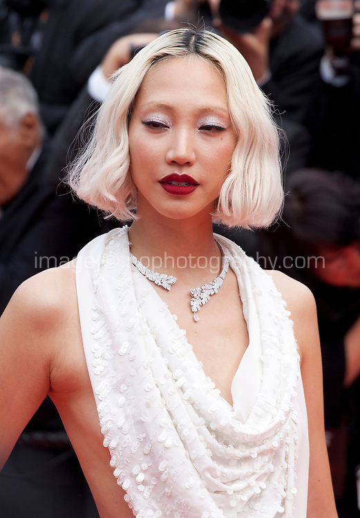 Soo Joo Park at the Once Upon A Time... In Holywood gala screening at the 72nd Cannes Film Festival Tuesday 21st May 2019, Cannes, France. Photo credit: Doreen Kennedy