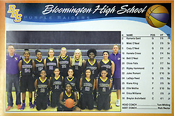 20 November 2015:  Normal Community Lady Ironmen v Bloomington Central Catholic Lady Saints at Girls Intercity in the gym at Normal Community West in Normal IL