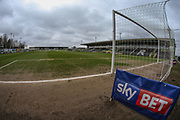 The New Lawn, home of Forest Green Rovers during the EFL Sky Bet League 2 match between Forest Green Rovers and Mansfield Town at the New Lawn, Forest Green, United Kingdom on 24 March 2018. Picture by Shane Healey.