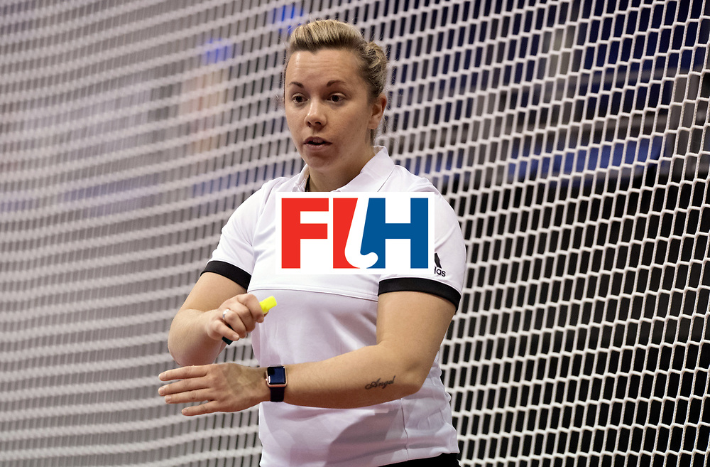 BERLIN - Indoor Hockey World Cup<br /> Women: Russia - Czech Republic<br /> foto: MEISTER Michelle.<br /> WORLDSPORTPICS COPYRIGHT FRANK UIJLENBROEK