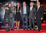 "NAOMIE HARRIS, JAVIER BARDEM AND DANIEL CRAIG, SAM MENDES, BARBARA BROCCOLI AND MICHAEL WILSON.attend the premiere of the twenty-third 007 adventure, ""Skyfall"" at Santa Ana Square, Madrid_29/10/2012.Mandatory Credit Photo: ©NEWSPIX INTERNATIONAL..**ALL FEES PAYABLE TO: ""NEWSPIX INTERNATIONAL""**..IMMEDIATE CONFIRMATION OF USAGE REQUIRED:.Newspix International, 31 Chinnery Hill, Bishop's Stortford, ENGLAND CM23 3PS.Tel:+441279 324672  ; Fax: +441279656877.Mobile:  07775681153.e-mail: info@newspixinternational.co.uk"