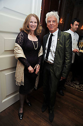 NICKY HASLAM and LADY CAROLINE PRIMROSE at a party to celebrate the publication of Gosling - Classic Design for Contemporary Interiors by Tim Gosling held at William Kent House, The Ritz Hotel, London on 1st October 2009.