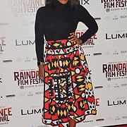 Karen Bryson MBE attends the Raindance Opening Gala 2018 held at Vue West End, Leicester Square on September 26, 2018 in London, England.