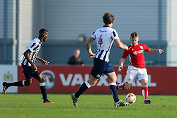 Bristol City U23 in action - Rogan Thomson/JMP - 31/10/2016 - FOOTBALL - SGS Wise Campus - Bristol, England - Bristol City U23 v Millwall U23 - U23 Professional Development League 2 (South Division).