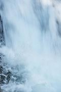 The base of Madcap Falls along Paradise River in Mt Rainier National Park.