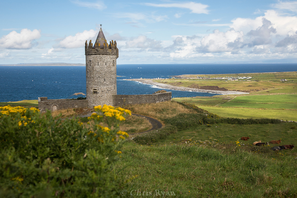16th Century Doonagore Castle near Doolin