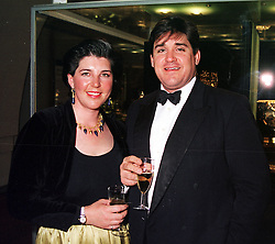 MR RICHARD & LADY LOUISA BARTON, she is the sister of the Earl of Denbigh & Desmond, at a reception in London on 17th April 2000.OCX 40<br /> © Desmond O'Neill Features:- 020 8971 9600<br />    10 Victoria Mews, London.  SW18 3PY  photos@donfeatures.com   www.donfeatures.com<br /> MINIMUM REPRODUCTION FEE AS AGREED.<br /> PHOTOGRAPH BY DOMINIC O'NEILL