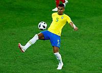 Casemiro (Brazil)<br /> Moscow 27-06-2018 Football FIFA World Cup Russia  2018 <br /> Serbia - Brazil / Serbia - Brasile<br /> Foto Matteo Ciambelli/Insidefoto