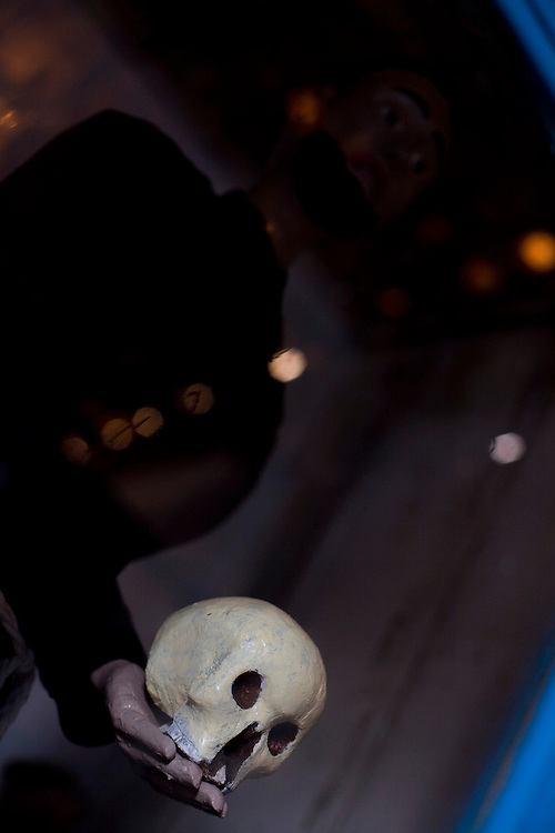 Sao Romao _ MG, Brasil...Imagem de  Sao Francisco de Assis na igreja Nossa Senhora do Rosario...The St Francis image at Nossa Senhora do Rosario church...Foto: LEO DRUMOND /  NITRO