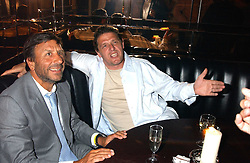 Left to right, the HON.SIR ROCCO FORTE and MARCO PIERRE WHITE at the opening party of the new Frankie's Italian Bar and Grill hosted by Frankie Dettori, Marco Pierre White and Edward Taylor at 68 Chiswick High Road, London W4 on 1st September 2005.<br /><br />NON EXCLUSIVE - WORLD RIGHTS