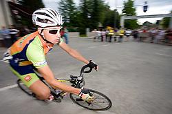 Gasper Svab at Slovenian National Championships in Road cycling, 178 km, on June 28 2009, in Mirna Pec, Slovenia. (Photo by Vid Ponikvar / Sportida)