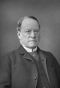 Lyon Playfair (1818-1898) Scottish chemist and politician. He studied chemistry at Glasgow under Thomas Graham, and under Liebig at Giessen.  Professor chemistry at Edinburgh university 1858-1896. Discovered the nitroprusside class of salts. Chemist to the Geological Survey, 1846. Elected a Fellow of the Royal Society 1848. Engaged in the organisation of the Great Exhibition of 1851. Liberal MP for the universities of Glasgow and Edinburgh 1868-1885. Secretary of State for Science and Art 1855. Deputy Speaker of the Hosue of Commons 1880-1883. Knighted 1883. Created Baron 1892. From 'The Cabinet Portrait Gallery'. London, 1890-1894. Woodburytype.