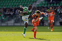 Max Alain GRADEL - 08.03.2015 -  Saint Etienne / Lorient  -  28eme journee de Ligue 1 <br />