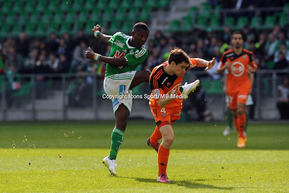 Max Alain GRADEL - 08.03.2015 -  Saint Etienne / Lorient  -  28eme journee de Ligue 1 <br />Photo : Jean Paul Thomas / Icon Sport