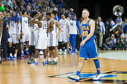 UCLA guard Bryce Alford leaves the court for the last time as a Bruin after the game.<br /> <br /> The University of tKentucky hosted the University of California Los Angeles in a 2017 NCAA Division 1 Sweet 16 game, Friday, March 24, 2017 at FedExForum in Memphis.