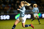 Manchester City midfielder Keira Walsh (24) during the FA Women's Super League match between Manchester City Women and Everton Women at the Sport City Academy Stadium, Manchester, United Kingdom on 20 February 2019.