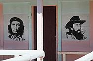 Che and Camilo in Campechuela, Granma, Cuba.
