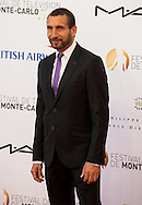 Zinedine Soualem arrives at the opening ceremony of the 54th Monte-Carlo Television Festival on June 7, 2014 in Monte-Carlo, Monaco.