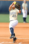 FIU Softball Vs. FAU Owls at FIU Softball Stadium.  Golden Panthers defeated the Owls 2-0 behind stellar pitching by Mariah Dawson who fanned 12 Owls in the process.