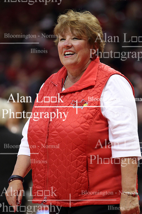 04 January 2015:  Julie Dobski during an NCAA MVC (Missouri Valley Conference) women's basketball game between the Southern Illinois Salukis and the Illinois Sate Redbirds at Redbird Arena in Normal IL