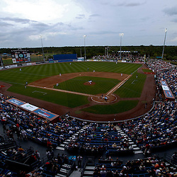 March 6, 2011; Port St. Lucie, FL, USA; A general view from the stands during a spring training exhibition game between the Boston Red Sox and New York Mets at Digital Domain Park. The Mets defeated the Red Sox 6-5.  Mandatory Credit: Derick E. Hingle