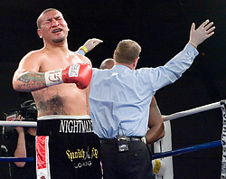 February 9, 2007 - Selden, NY - Chris Arreola stops Zakeem Graham by 3rd round TKO on ESPN2's Friday Night Fights at Suffolk Community College in Selden, NY.