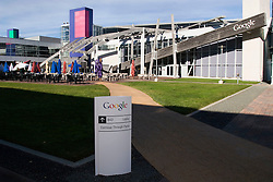 "Exterior views of the corporate headquarters and campus  of search engine giant ""Google"" in Mountain View Calif. .   Photo by Kim Kulish."