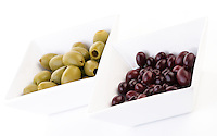 Pickled olives - studio shot