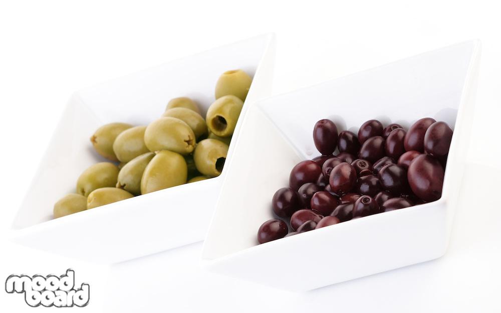Pickled olives - studio shot