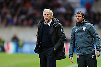Rene GIRARD / Nicolas GIRARD - 08.03.2015 - Guingamp / Lille - 28eme journee de Ligue 1 <br /> Photo : Vincent Michel / Icon Sport