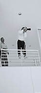 Wayne shooting for Ge/Monogram at Annette Theisen's home, Sarasota, FL