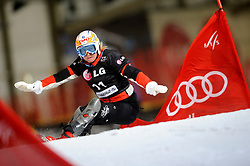 10-10-2010 SNOWBOARDEN: LG FIS WORLDCUP: LANDGRAAF<br /> First World Cup parallel slalom of the season / BOLDYKOVA Svetlana RUS<br /> ©2010-WWW.FOTOHOOGENDOORN.NL