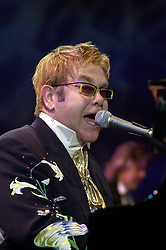 Elton John Peach Tree Road Tour. Hallam FM Arena, Sheffield.Thursday 9th December 2004..This Images is Copyright Paul David Drabble
