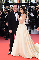 May 26, 2019 - WORLD RIGHTS.Cannes, France, 25.05.2019, 72th Cannes Film Festival in Cannes. The 72th edition of the film festival will run from May 14 to May 25. .Closing Ceremony Red Carpet .NZ. Quentin Tarantino and Daniella Tarantino .Fot. Radoslaw Nawrocki/FORUM (FRANCE - Tags: ENTERTAINMENT; RED CARPET) (Credit Image: © FORUM via ZUMA Press)