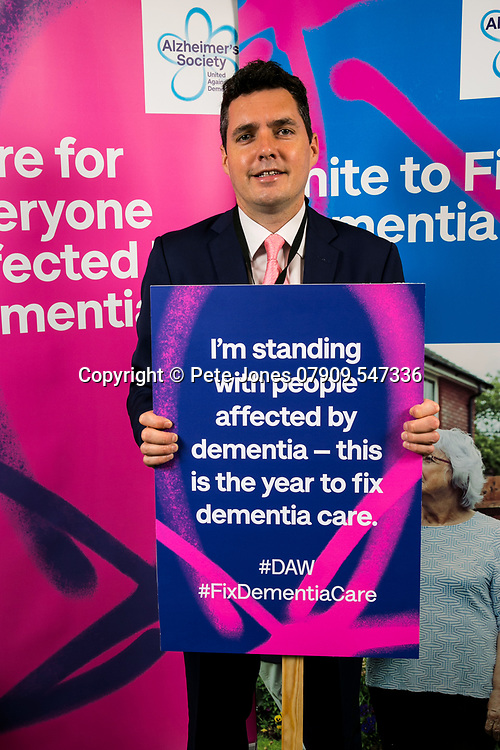 """Huw Merriman MP;<br /> Alzheimer's Society;<br /> """"Fix Dementia Care & State of the Nation""""<br /> Parliamentary report Launch;<br /> Houses of Parliament, Westminster.<br /> 23rd May 2018.<br /> <br /> © Pete Jones<br /> pete@pjproductions.co.uk"""