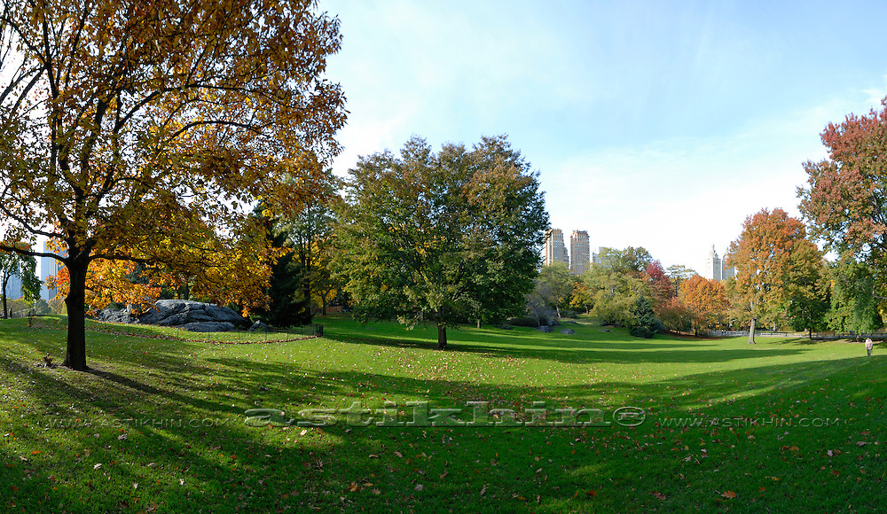 October in Central Park NYC