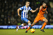 Brighton central midfielder, Beram Kayal (7) during the Sky Bet Championship match between Brighton and Hove Albion and Ipswich Town at the American Express Community Stadium, Brighton and Hove, England on 29 December 2015.