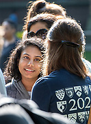 Photography &copy;Mara Lavitt<br /> August 24, 2018<br /> <br /> First-year-student move-in day at Yale.