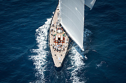 "Following the 156"" sloop Hyperion in 1999 and the classic 295"" schooner Athena in 2004, Dr Jim Clark has reaffirmed his confidence in Royal Huisman engineering by placing a third, highly distinctive order with the yard. Dr Clark""s latest commission is a modern recreation of Tommy Sopwith""s beautiful 41.3m/135.5"" ""Super-J"" class yacht, Endeavour II.<br /> <br /> Interest in these legendary racing yachts has grown apace, with a number of restorations including the smaller Endeavour by Royal Huisman in 1989; the recreation of Ranger in 2006 and of W. Starling Burgess""s Rainbow; and even some new projects to bring to life period designs that have remained on the drawing board until now. Under J-Class Association rules, some design features are restricted historically, but performance can be optimised through a more flexible approach to sail area, ballast ratio, righting moment and build materials. As a result, Dykstra Naval Architects have overseen the build of Endeavour II""s hull in Alustar, with spars and rig in carbon composite to create a yacht that should demonstrate the full potential of Charles E Nicholson""s original design. To further this ambition, Royal Huisman have been working with the naval architects, the independent Carew Group, master sailmakers North Sails and spar makers Rondal to create the optimum mast and sail configuration as, in effect, a single wing unit."
