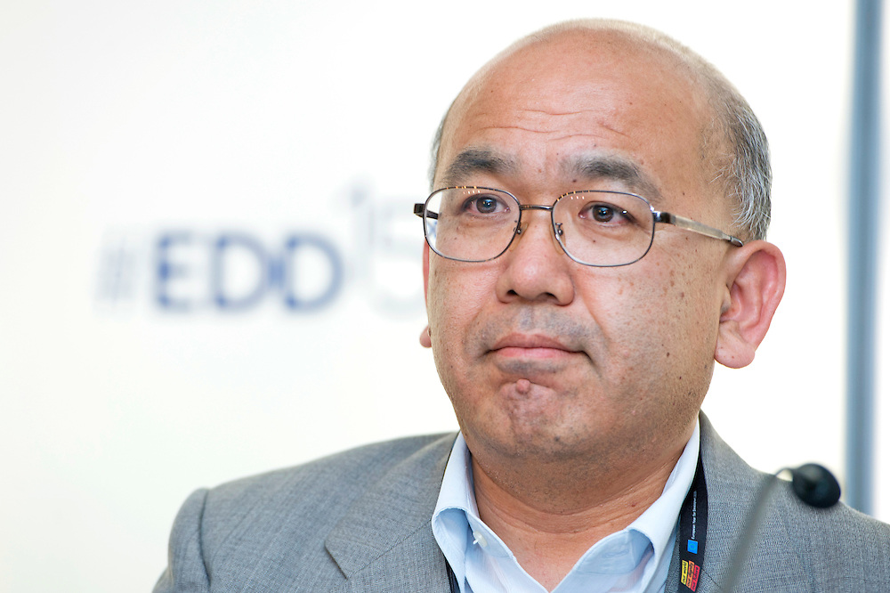 03 June 2015 - Belgium - Brussels - European Development Days - EDD - Health - Refugees and internally displaced persons - Right to health , right to life - Akihiro Seita<br /> Director of Health, United Nations Relief and Works Agency for Palestine Refugees in the Near East (UNRWA) &copy; European Union