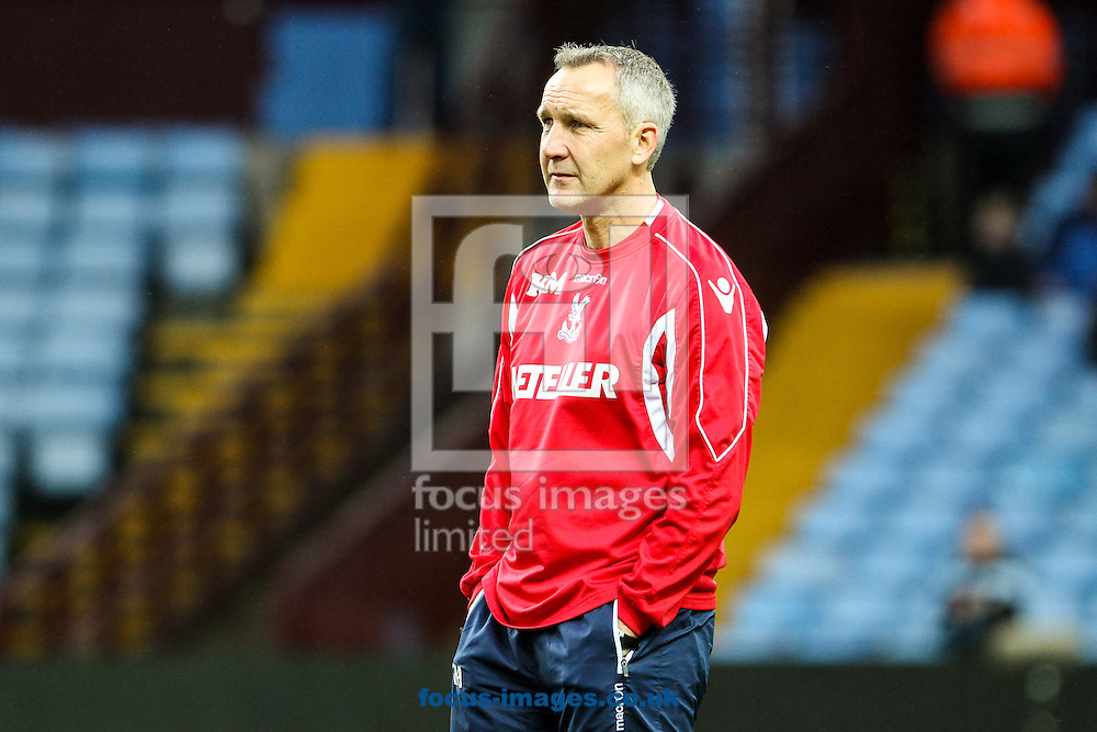 Crystal Palace caretaker manager Keith Millen before the Barclays Premier League match at Villa Park, Birmingham<br /> Picture by Andy Kearns/Focus Images Ltd 0781 864 4264<br /> 01/01/2015