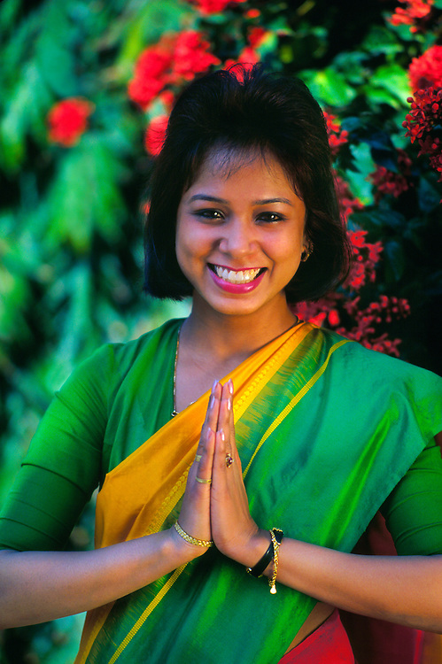 Indian woman, Agra, India