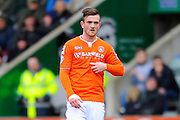 Luton Town goal scorer Jack Marriott during the Sky Bet League 2 match between Plymouth Argyle and Luton Town at Home Park, Plymouth, England on 19 March 2016. Photo by Graham Hunt.