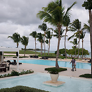 PUNTA CANA, DOMINICAN REPUBLIC-DECEMBER 3, 2014: La Cana Golf Club House. Story on tourism to the Caribbean Island.  (Photo by Angel Valentin/Getty Images for Der Spiegel)