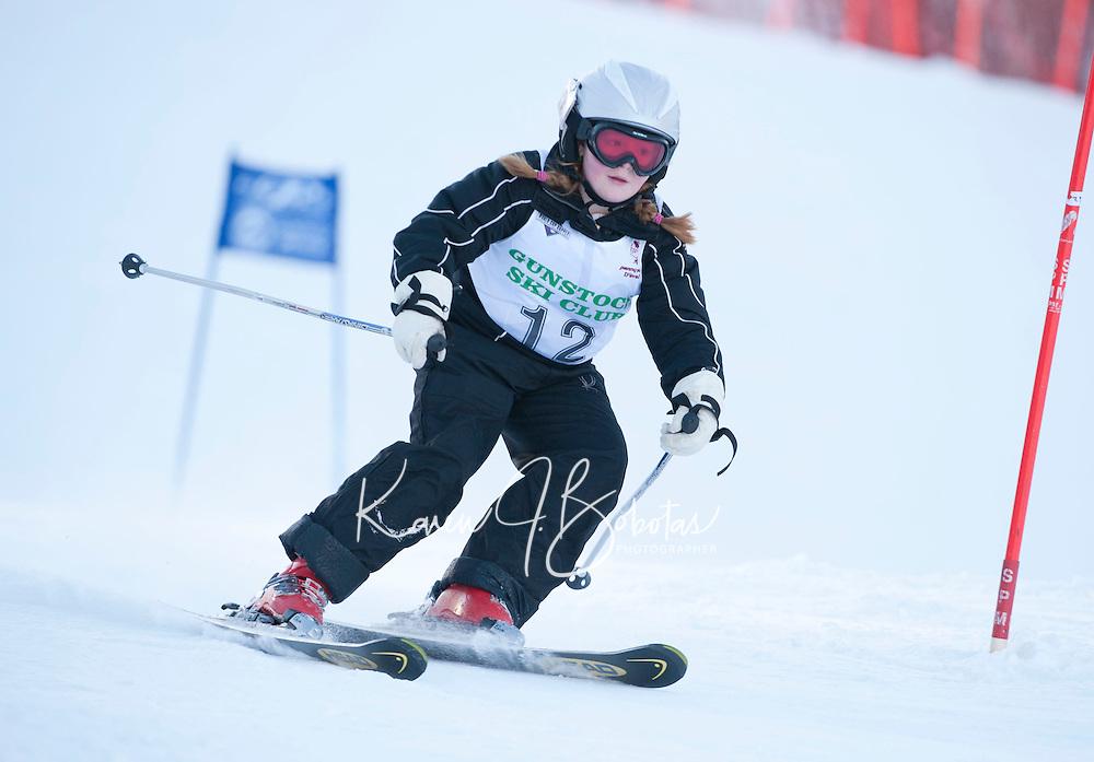 Gus Pitou Memorial giant slalom at Gunstock Mountain Resort 2nd run Gilford, NH