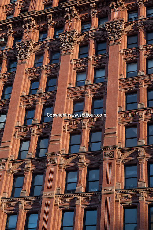New York. architecture in  lower manhattan new york /  achitecture du sud de Manhattan