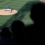 Pitcher Matt Harvey, New York Mets, pitching during the New York Mets Vs Arizona Diamondbacks MLB regular season baseball game at Citi Field, Queens, New York. USA. 11th July 2015. Photo Tim Clayton