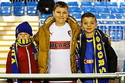 Solihull Moors and Rotherham United fans before the The FA Cup match between Solihull Moors and Rotherham United at the Automated Technology Group Stadium, Solihull, United Kingdom on 2 December 2019.