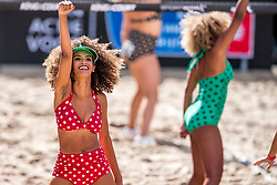 07-09-2018 NED: King of the Court, Utrecht<br /> 5 teams play in 3 rounds for the title 'King of the Court / Entertainment, dancers, beach girls