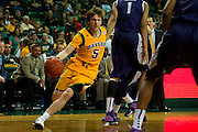 WACO, TX - JANUARY 11: Brady Heslip #5 of the Baylor Bears drives to the basket against the TCU Horned Frogs on January 11, 2014 at the Ferrell Center in Waco, Texas.  (Photo by Cooper Neill/Getty Images) *** Local Caption *** Brady Heslip